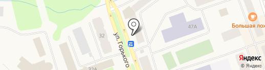 Саша на карте Дудинки