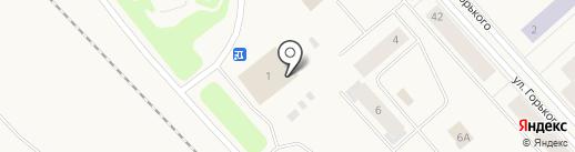 Олений рог на карте Дудинки