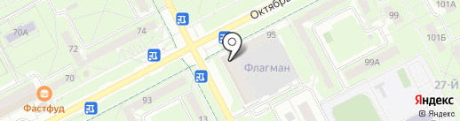 Жигули на карте Кемерово