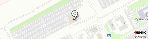 АвтоCOLOR на карте Кемерово