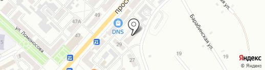 Детский сад №18 на карте Ленинска-Кузнецкого