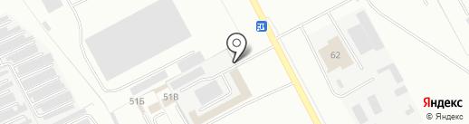 Блок на карте Кемерово