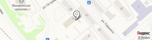 Комплекс бытовых услуг, МУП на карте Дудинки