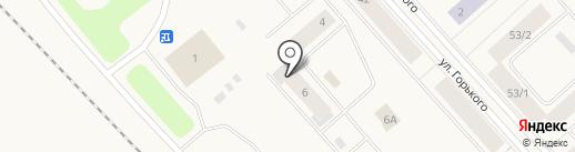 АКБ РОСБАНК на карте Дудинки