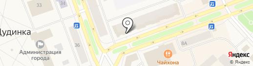 Сбербанк, ПАО на карте Дудинки