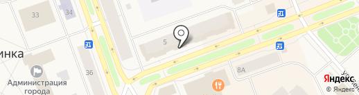 Губернские аптеки, ГП на карте Дудинки