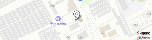Автобазар на карте Кемерово