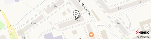 Магнолия на карте Дудинки