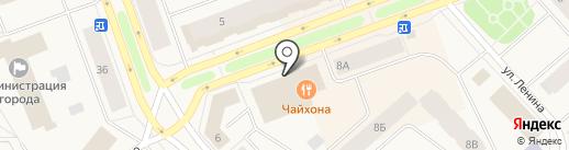DNS на карте Дудинки