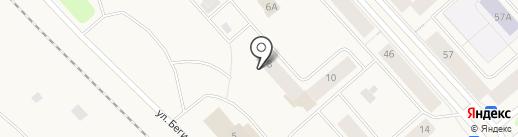 Таймырский таможенный пост на карте Дудинки