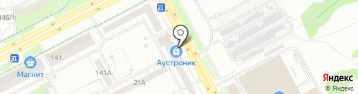 Кренделёк на карте Кемерово