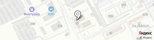 ТехАлмаз на карте Кемерово