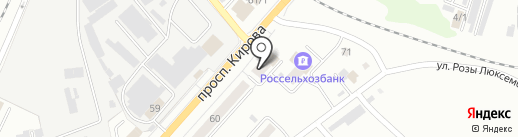 Выставочный зал на карте Ленинска-Кузнецкого