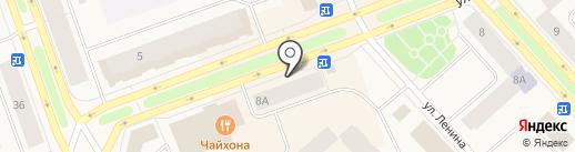 585 на карте Дудинки