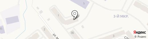 Элькам на карте Дудинки
