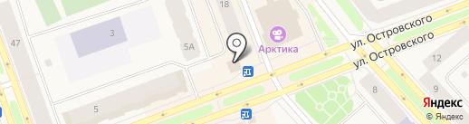 Остановка на карте Дудинки