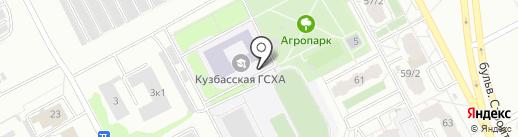 Кемеровский государственный сельскохозяйственный институт на карте Кемерово