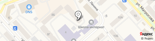 Отдел судебных приставов по Таймырскому Долгано-Ненецкому району на карте Дудинки