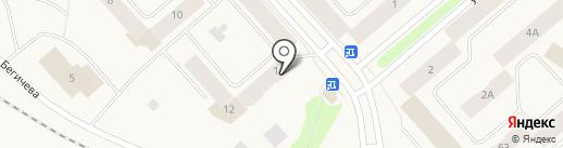 Часовня Пресвятой Троицы на карте Дудинки