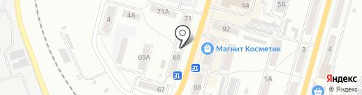 Сладко и Весело на карте Ленинска-Кузнецкого