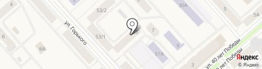 Таис на карте Дудинки