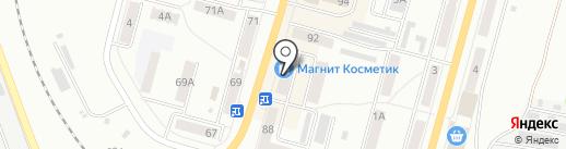 Смайл на карте Ленинска-Кузнецкого