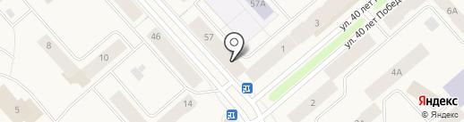 Yamaha на карте Дудинки