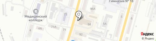 Логос на карте Ленинска-Кузнецкого