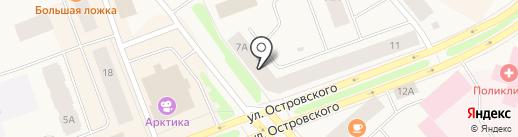 Компьютерный центр на карте Дудинки