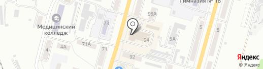 Мария-Ра на карте Ленинска-Кузнецкого