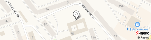 Дудинский районный суд Красноярского края на карте Дудинки