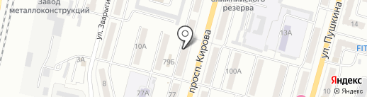 Эл-Си-Ти на карте Ленинска-Кузнецкого