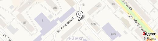 Магазин цветов на карте Дудинки