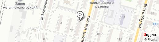 Манго на карте Ленинска-Кузнецкого