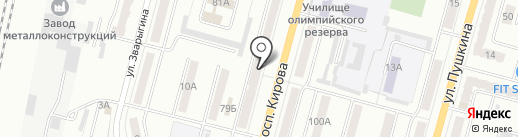 Бутик расходных материалов для ногтевого сервиса на карте Ленинска-Кузнецкого