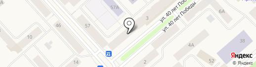 Минимаркет на карте Дудинки