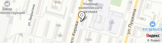 Молочные продукты из Алтая, ЗАО на карте Ленинска-Кузнецкого