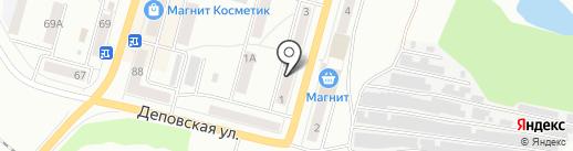 Компания по чистке ковров и мебели на карте Ленинска-Кузнецкого
