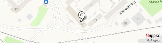 Отдел МВД России по Таймырскому Долгано-Ненецкому району на карте Дудинки