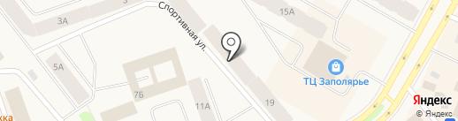 Мировые судьи Таймырского Долгано-Ненецкого района на карте Дудинки
