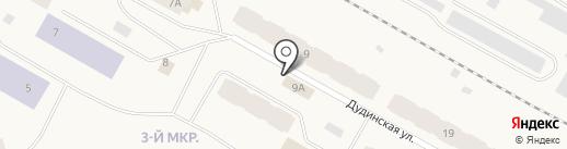 Продуктовый магазин на карте Дудинки