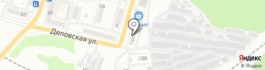 Стиль на карте Ленинска-Кузнецкого