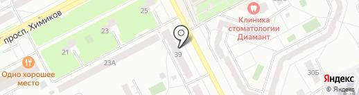 Мистер Денер на карте Кемерово