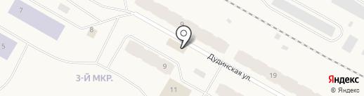 Продукты на карте Дудинки