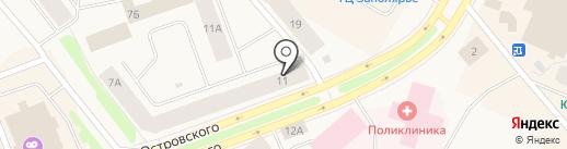 VIS-A-VIS на карте Дудинки