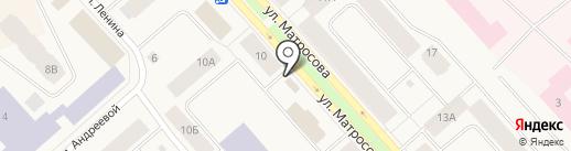 Авангард на карте Дудинки