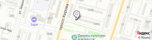 Пожсервис на карте Ленинска-Кузнецкого