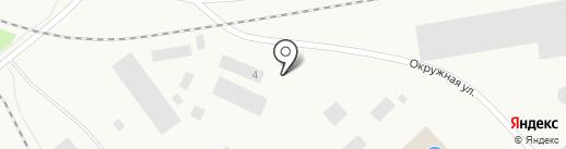 АвтоДеталь на карте Дудинки