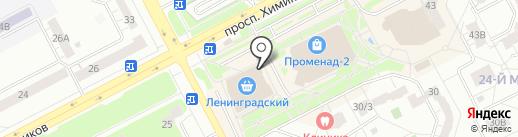 Здоровье Сибири на карте Кемерово