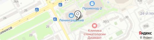 Хлебная лавка на карте Кемерово